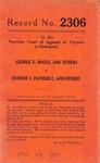 George U. Boggs, et al. v. Dunton J. Fatherly, et al.