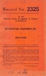 The Boulevard Apartments, Inc. v. Opal Evans