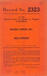 Hancock Company, Inc. v. Belle Stephens