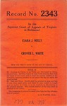 Clara J. Neely v. Grover L. White