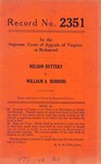 Nelson Buttery v. William A. Robbins