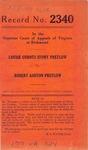 Louise Curdts Story Pretlow v. Robert Ashton Pretlow