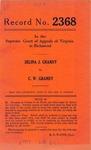 Selina J. Grandy v. C. W. Grandy