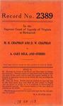 M. H. Chapman and D. W. Chapman v. A. Cary Delk, et al.