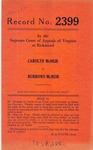 Carolyn McNeir v. Burrows McNeir