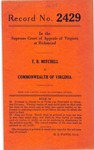 Thomas R. Mitchell v. Commonwealth of Virginia