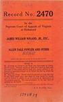 James William Noland, Jr., etc. v. Allen Dale Fowler, et al.