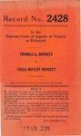 Thomas A. Bennett v. Viola Motley Bennett