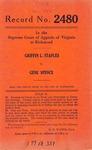 Griffin L. Staples v. Gene Spence