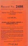 A. E. Tate, etc. v. Atlanta Oak Flooring Company, et al.