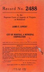 James E. Lowery v. City of Norfolk