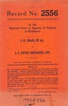 J. H. Craig, et al. v. J. F. Doyle (deceased), etc., et al.