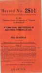 International Brotherhood of Electrical Workers, et al. v. Fred Bridgeman