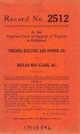 Virginia Electric and Power Company v. Beulah May Clark, et al.