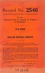 H. B. Odom v. Sinclair Refining Company