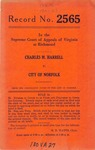 Charles M. Harrell v. City of Norfolk