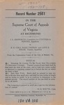.S. Ashworth, Committee for Cynthia A. Powers v. A.E. Cole, Reed Thomas, and Love B. Rouse, Trustee