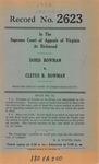 Doris Bowman v. Cletus B. Bowman