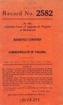 Roosevelt Lunsford v. Commonwealth of Virginia