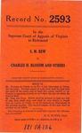 S. M. Rew v. Charles H. Bloxom, et al