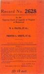 W.A. Fravel, et al., v. Prentiss A. Shreve, et al.