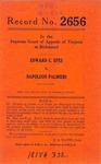 Edward C. Epes v. Napolean Palmieri