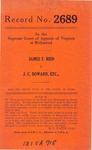James T. Reid v. J.C. Boward, Trading as Boward Truck Line and Charles Overcash