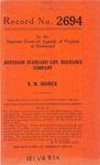 Jefferson Standard Life Insurance Company v. B. M. Hedrick