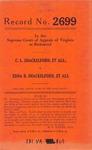 C. L. Shackleford, et al., v. Edna B. Shackelford, et al.