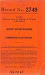 Moffett Dotson Wilborne v. Commonwealth of Virginia
