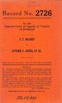 S. T. Massey v. Luther C. Jones, et al.