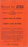 Lillian L. Baird, et al. v. Charles E. Crank, et al.
