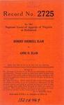 Robert Diebrell Elam v. Anne D. Elam
