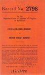 Cecelia McKenna Lindsey Kern v. Henry Dorsey Lindsey