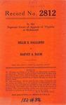 Nellie B. Dalgarno v. Harvey A. Baum