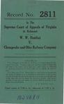 W. W. Douthat v. Chesapeake and Ohio Railway Company