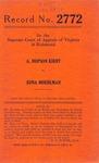 A. Hopson Kirby v. Edna Moehlman