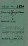 County of Albermarle v. Stuart Massey, et al.