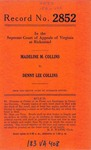 Madeline M. Collins v. Denny Lee Collins