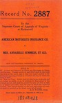 American Motorists Insurance Company v. Mrs. Annabelle Summers, et al.