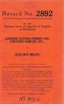 Alphonse Custodis Chimney Construction Company, et al. v. Juan Cruz Molina