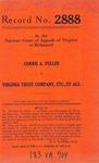 Corrie A. Fuller v. Virginia Trust Company, etc., et al.