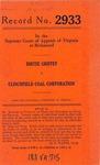Birtee Griffey v. Clinchfield Coal Corporation