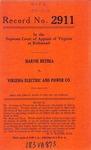 Harvie Bethea v. Virginia Electric and Power Company