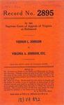 Vernon L. Johnson v. Virginia A. Johnson, etc., et al.