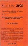 The Great Atlantic & Pacific Tea Company v. City of Richmond
