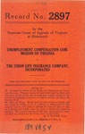 Unemployment Compensation Commission of Virginia v. The Union Life Insurance Company, Inc.