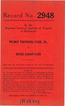 Wilmot Theodora Tarr, Jr. v. Bessie Sarah Tarr