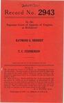 Raymond Herbert v. T. C. Stephenson