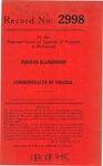 Preston Blankenship v. Commonwealth of Virginia